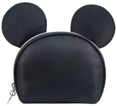 14273dc0061 Disney Mickey Mouse   Friends Vintage Mickey Ear Round Top Cosmetic Bag