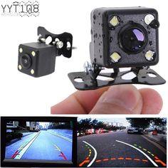 Dynamic Track 170° Viewing Angle+4 LED Waterproof Car Auto Rear Backup Camera…