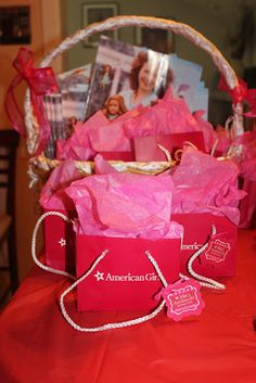 {FEATURED PARTY} American Girl Birthday Party