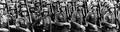 Timeline of German involvement during World War 2.