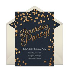 Customizable Birthday Party Dots online invitations. Easy to personalize and send for a birthday party. #punchbowl