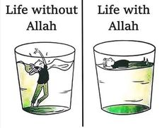 Without Allah we are nothing