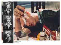 Lucky Blue Smith is a Hustler for Wonderland Shoot