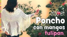 Tulip Poncho as you can see is one of the most beautiful poncho we have ever seen. For this awesome poncho we have free video tutorial from Esperanza Where you can learn everything that you need top start crocheting and finish it too. Crochet Braids, Crochet Shawl, Knit Crochet, Poncho Design, Love Crochet, Crochet Ideas, Used Iphone, Free Pattern, Diy And Crafts