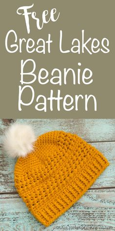 Love this crochet beanie pattern | #crochet365knittoo #crochethat #crochetbeanie #crochetpattern