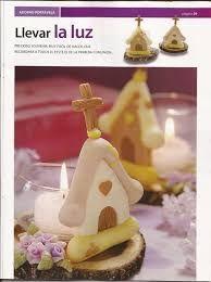 Resultado de imagen para souvenirs para comunion en porcelana fria