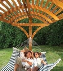Hammock Stand & Cover... So excited my (awesome) boyfriend is starting the building process right now! =]