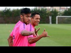 Le premier entrainement de Neymar après sa blessure au dos (vidéo) - http://www.actusports.fr/115389/premier-entrainement-neymar-apres-blessure-au-dos-video/