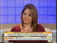 Legal analyst Karen DeSoto talks with Jenna Wolfe on the Today Show about the possible release of American hikers being held on espionage charges in Iran.