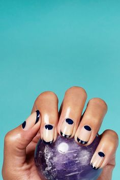 L.A.'s Latest Manicure Trend Is A Bit...Controversial #refinery29  http://www.refinery29.com/2015/12/99491/rose-theodora-astrology-nail-polish