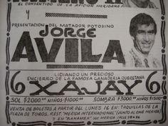 Península Taurina   : Hace 28 años debutó Jorge Ávila en la Plaza Mérida...