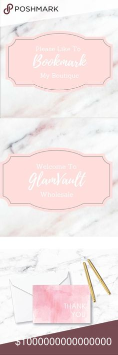Bookmark My Closet For New Arrivals~Part 2 Hello all my PFF's! Please Bookmark My Closet For New Arrivals~And Announcements 💕Part 2 GlamVault Bags