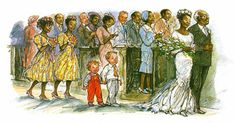 Illustration from The Big Alfie and Annie Rose Storybook © Shirley Hughes, 1988.