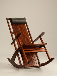 Wooden rocking chair from Finland,Urjala called Fuuga
