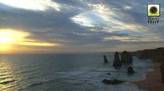 Twelve Apostles sunset, Australia: situated on the Great Ocean Road, Australias most spectacular coastal road