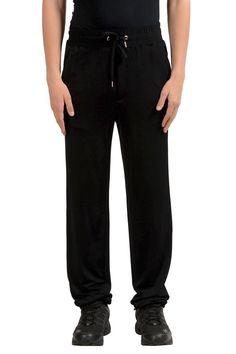 186.99   Versace Men s Black Sweat Track Pants US 2XS IT 44 ❤  versace  mens   black  sweat  track  pants  makeup  fashion  fashionista  film  sensuelle  ... 48a2bd7dacd