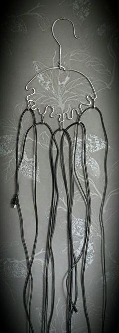 #Hanger#Storage#Cable#Wire/ Kabelförvaringsgalge av  metalltråd