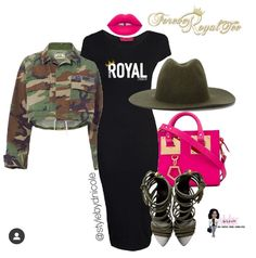 Outfits With Hats, Chic Outfits, Summer Outfits, Summer Clothes, Hanging Out, Shirt Dress, T Shirt, Fashion Brand, Camo