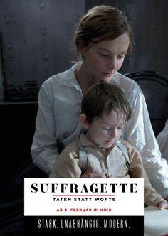 Suffragette Carey Mulligan und Kind | SUFFRAGETTE - Der Film | Echte Postkarten…