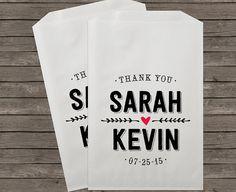 Wedding Favor Bags, Candy Buffet Bags, Candy Bar Bags, Favor Bags, Personalized Wedding Favor Bags, Treat Bags, Custom Favor Bags, Kraft 089