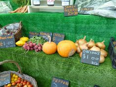 Delicious, organic produce fresh from the market stall. Every Tuesday.
