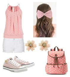 """""""Pink..."""" by malia-b ❤ liked on Polyvore"""