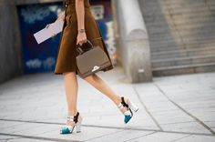 Prada sandals THE 50 BEST STREET-STYLE SHOES FROM SPRING 2014