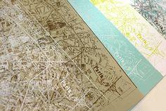 "Hambley ""Streets of Paris""?  Yes please... white on kraft thanks."