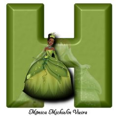 Princesa Tiana Disney, Disney Png, Dragon Ball, Alphabet, Princess Tiana, Holiday Decor, Professor, Punk, Birthday