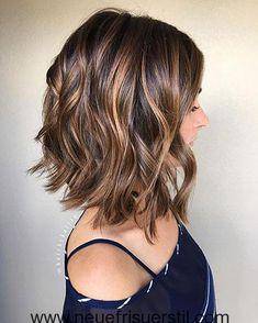 #neu Attraktive kurze Frisur Ideen mit lockigen Locken #Bob Frisuren#Haarmodelle#Farbe