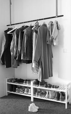 Get this underneath the wardrobe