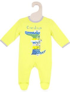Lightweight printed sleepsuit Boys 0 to 18 months 9,00EUR Sleepsuits A wide variety of colours to suit all tastes! - Lightweight sleepsuit - Long sleeves - Round neck - P