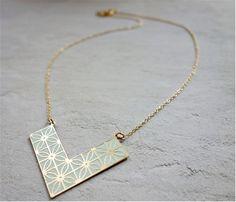 Shlomit Ofir - Short Jaffa Necklace, architectural jewelry design