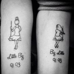 30 ideias para fazeres uma tatuagem com a tua irmã | Tá Bonito