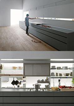 Valcucine - New Logica kitchens