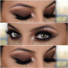 @amysmakeupbox This brown smokey...Instagram photo | Websta (Webstagram)