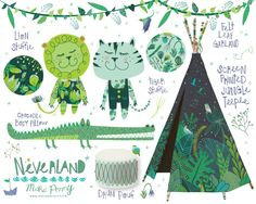 Neverland Collection by Mara Penny