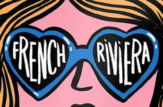 Image result for french riviera illustration French Riviera, Cavaliers Logo, Team Logo, Illustration, Party, Image, Fiesta Party, Illustrations, Receptions