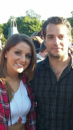 "NEW PIC ALERT @lizzykc shared this fantastic pic! ""Henry Cavill and @AceyCasey7 so jealous"" #HenryCavill #Ireland"