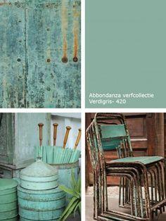 Kleur inspiratie | Blauw in je interieur | Petrol | Abbondanza Verdigris