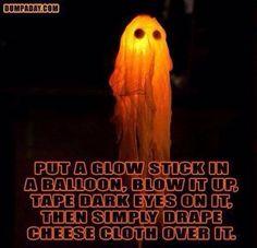 Balloon, Glow Stick, Cheese Cloth