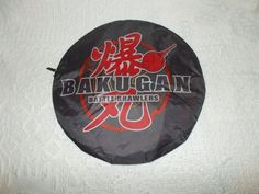 Bakugan Battle Brawlers Bakumat Folding Travel Arena Map In Carrying Case  #SEGA