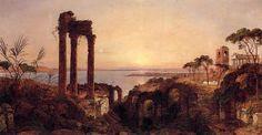 La baie de Naples de Jasper Francis Cropsey (1823-1900, United States)