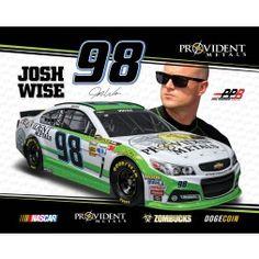 Josh Wise NASCAR Sprint Cup Hero Card | 2014 Richmond Night Race 9/6
