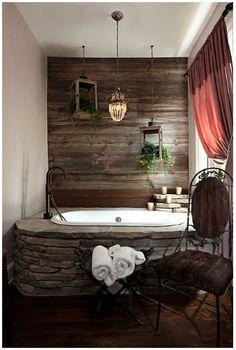 log home bathrooms master bath in log home husband