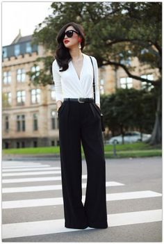 Art Symphony: Wide Leg Pants- I want to own this outfit!!!