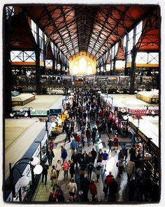 Grand Market Hall in Budapest via Travel Channel, Europe Destinations, Travel Photos, Traveling By Yourself, Places To Visit, Around The Worlds, Tours, Adventure, Instagram Posts