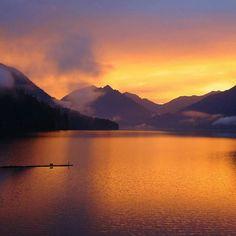 Cushman sunset