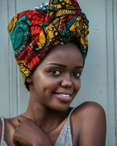 ღ ஐ ღ BEAUTY OF AFRICA ღ ஐ ღ Hair Scarfs, Hair Wrap Scarf, African Wear, African Fashion, Black Is Beautiful, Looking Gorgeous, Pinterest Girls, Turbans, African Beauty