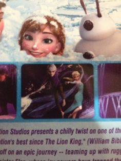 My dad just brought Frozen back from China and Jack Frost is on the cover guess china ships Jelsa lol --previous pinner